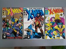 Marvel Uncanny X-Men 275, 276, 280