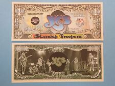 Rock Band YES: Rick Wakeman, Chris Squire ~ Cool $1,000,000 One Million Dollars