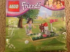 Lego  Friends Emma Mini Golf Set 30203 Exclusive Polybag NEW SEALED Girl rare