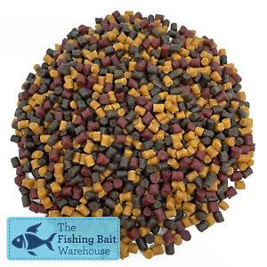 Mixed Pellets 4mm, 1kg, 2kg, 5kg, 20kg, Carp Fishing Pellets, Tench, Halibut