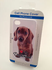 iPhone 4/4S Case / I love my Dog! (CHOOSE FROM ALL BREEDS) Dog cell phone cover
