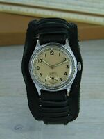Military No Name Vintage Swiss watch