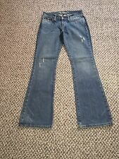 Women's ABERCROMBIE and FITCH Madison Factory Distressed Jeans   Sz. 2 R
