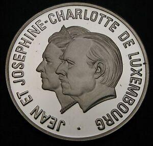 LUXEMBOURG 25 Ecu 1995 Proof - Silver - Jean & Josephine Charlotte - 926
