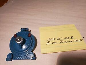 Lionel Pre War 0 Gauge # 260/263E Blue Steamer Boiler Front Nice! For Parts/Rest