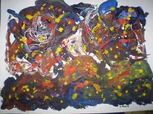 Original Acrylic  Artwork -  Abstract 2