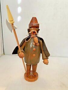 Vintage Erzgebirge German Wood Incense Smoker Night Watchman Germany