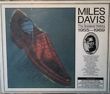 "Mies Davis Coffret 4 CD "" The Greatest History 1955-1969 CBS/SONY Import Japon"