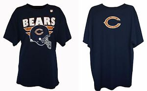 Chicago Bears NFL Junk Food Men's Graphic Back Style T-Shirt
