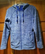 THE NORTH FACE Blue Zip Front Polar Fleece Hoodie Jacket  Women XS