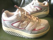 Skechers Shape-Ups UK Women Size 4 Toning Fitness Trainers Specific body areas!!