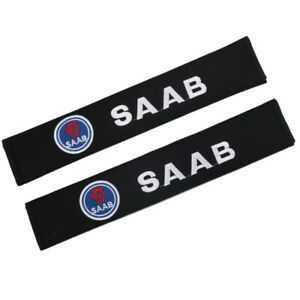 33cm Cotton Car Seat Belt Cover Shoulder Pads Protect Safety Cushion for SAAB