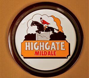 HIGHGATE MILD ALE Pub Beer Advertising tray Retro Man Cave