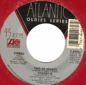 STACEY Q  WE CONNECT/TWO OF HEARTS   FREESTYLE  45      REISSUE