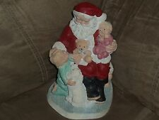 Udc Legend of Santa Claus On Santa's Knee Suzan Bradford 1987 10,017/15,000