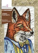 Anita Goodesign Embroidery Machine Design CD ANIMAL PORTRAITS - NEW