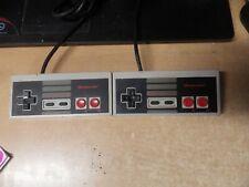 LOT OF 2 OEM Nintendo NES Original Controller NES-004 OEM Tested WORK VINTAGE #2