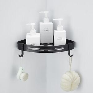 Thicken Bathroom Triangular Shower Caddy Shelf Corner Bath Storage Holder Rack