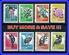 INDONESIA / OCCUPIED NEW GUINEA 1968 ANIMALS, FLOWERS SC#40-47 MNH MAPS