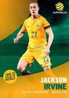 ✺New✺ 2017 2018 SOCCEROOS A-League Card JACKSON IRVINE