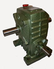 Reduction Gearbox Type 70 ratio 50 to 1 double sided output shaft