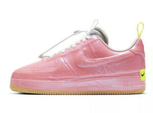 NIKE AIR FORCE 1 EXPERIMENTAL RACER PINK CV1754-600 US SIZE 7