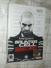 """ TOM CLANCY'S SPLINTER CELL DOUBLE AGENT "" WII"
