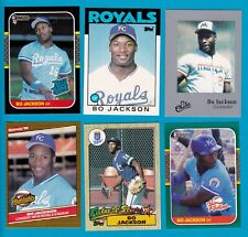 JACKSON BO CARD LOTS U PICK TOPPS SINGLE ROOKIE DONRUSS RR UD 1986 -1990 ROYALS