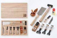 "Real miniature carpentry tools kit, Mame-do-raku ""Kozuchi-No-Hibiki"" Miki, Japan"