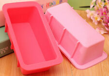 Kitchen FX Silicone Bread Cake Loaf Pan Jello Mold Giant Ice Tray LIGHT PINK