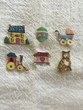 Miniature Victorian Toys - 6 - Iron-On Fabric Appliques