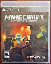 Minecraft (Sony PlayStation 3 PS3, 2014) GUARANTEED - Free Shipping - Mine Craft