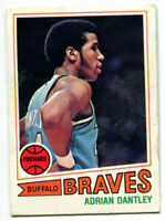 1977-78 Topps NBA Adrian Dantley Rookie Card #56 Buffalo Braves Notre Dame