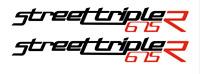 TP StreetTriple 675R Verkleidungs Abziehbilder / Aufkleber Stickers X2 /1041