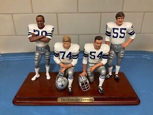 """Danbury Mint  -  Dallas Cowboys .......... """"Doomsday Defense"""""""