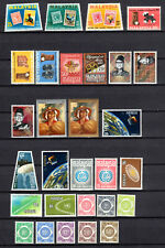 MALAYSIA 1966-1970 SELECTION OF COMPLETE SETS OF MNH STAMPS UNMOUNTED MINT