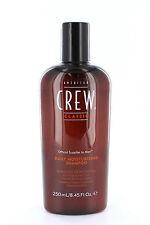 American Crew daily moisturizing shampoo 250 ml, per tutti i tipi di capelli