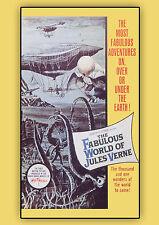 The Fabulous World of Jules Verne (DVD) Lubor Tokos