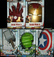 Set/Lot/Bundle 5 Marvel AVENGERS Assemble 3D FX Deco Wall LED Room Night Lights