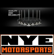 Supertech Valve Set B16 B17 B18 VTEC Inconel Exhaust Black Nitride Intake Dished