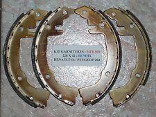 RENAULT 16 L / TL ( R1150 ) : KIT 4 GARNITURES FREIN BENDIX