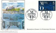 1986**ENVELOPPE ILLUSTREE**FDC 1°JOUR!!**LE MUSEE D'ORSAY**TIMBRE Y/T 2451