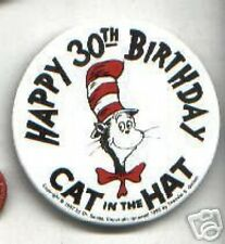 old Dated CAT In the HAT pin Dr. Seus