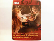 Autographed Walking Dead card - Bitten! (Greg Nicotero and Emma Bell)