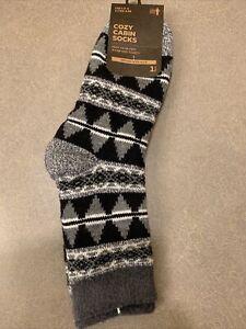 NWT Field & Stream Men's Cozy Cabin Socks Aloe Infused One Size (8-12.5)