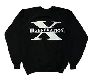 VTG 90s D-Generation X Crewneck Sweatshirt DX Wrestling WWE WWF Youth XL Adult S