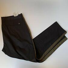 ZARA MAN Black Striped Cotton Dress Pants - Men's Size 34