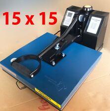 15 X 15 Digital Clamshell Heat Press Transfer T Shirt Sublimation Press Machine