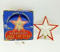 "Vintage 5"" Paramount Tree Top Star #735 in Original Box 1950s"