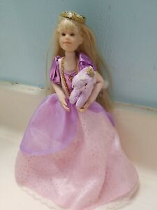 VTG. ONLY HEARTS PRINCESS KARINA GRACE, POSABLE, ORIG. CLOTHES, unicorn pet